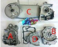 GY6, LONG Engine case