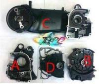 GY6, Long Engine case Black