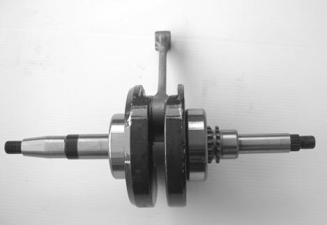 GR125, crankshaft