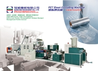 PET Sheet Extruding Machine