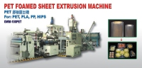 PET Formed Sheet Extrusion Machine