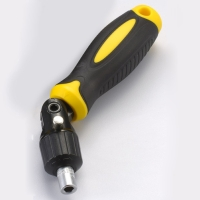 3-way Ratchet Screwdriver with Square Handle