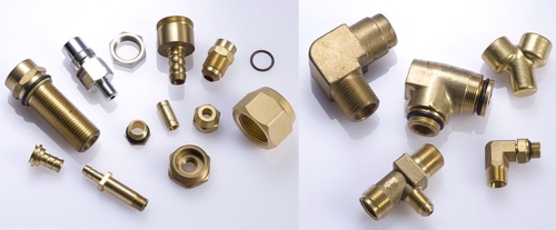 Forging and fabrication of CNC copper parts