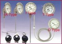 Bimetal thermometers / temperature switches