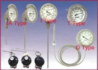 Bimetal thermometers / temperature switches