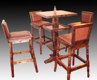 Stool & Table Set