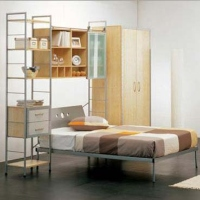 Combination Bookshelf & Bed