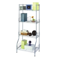 Four Metal Shelves