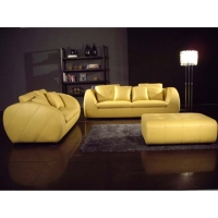 Complete Leather Sofa