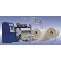 Multi-needle Shuttle Less Quilting Machine