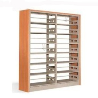 Dual-Sided Book Shelf with Composite Upright
