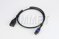 HSDaimmet® ST.F. CRIMP+AI1281288+USB 2.0(TYPE A) F. W/SHIELD