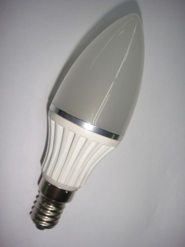 4W 35mm LED candle bulb with Samsung LED E14/E12/BA15D