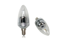 4W Clear Candle Candelabra LED Bulb Lamp Light