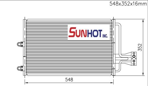 Citroen XANTIA - CCT005 - 散熱片