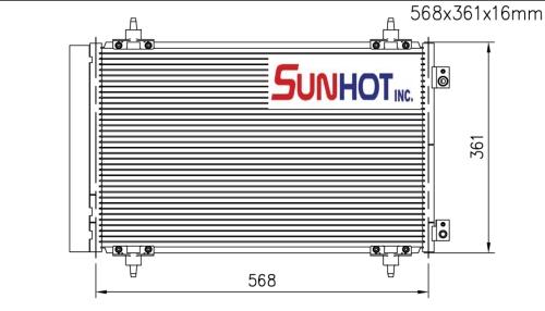 Citroen 2.0 HDI - CCT006 - 散热片
