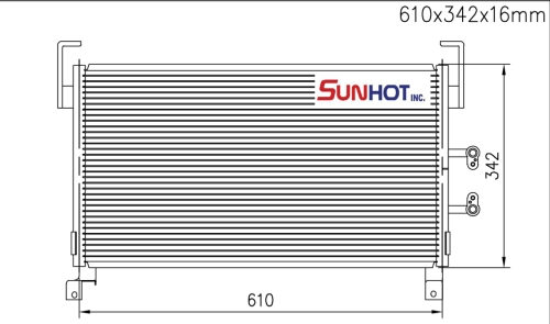 Dodge NEON - CDG011 - 散熱片