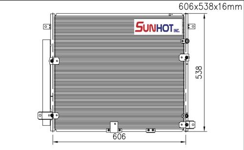 GM STS - CGM011 - 散熱片