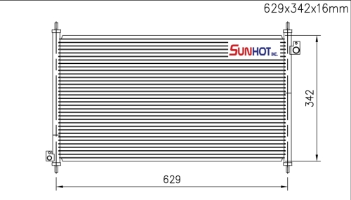 Honda ATC - CHD013 - 散热片