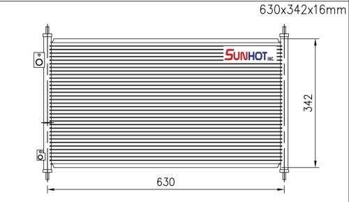 Honda ATC - CHD015 - 散热片