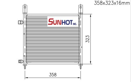 Honda LIFE - CHD027 - 散熱片