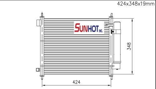 Honda LIFE - CHD028 - 散熱片
