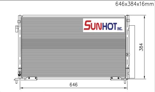 Honda LX COUPE - CHD039 - 散热片
