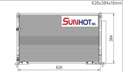 Honda CIVIC - CHD048 - 散热片