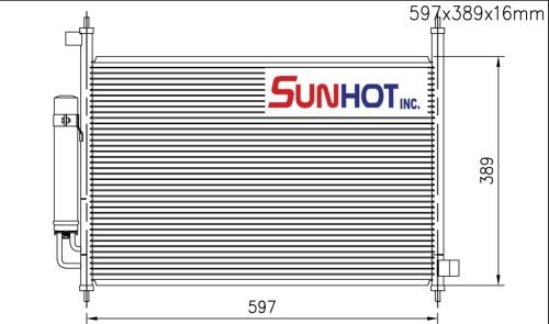 Honda FR-V 2.2D - CHD051 - 散熱片