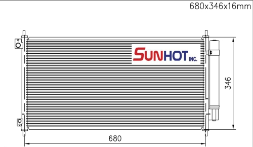 Honda ACCORD - CHD058 - 散热片