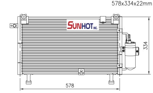 Isuzu RODEO 3.0 D-MAX +L - CIZ007 - 散熱片