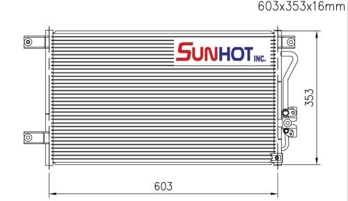 Mitsubishi SPORT - CMB027 - 散热片