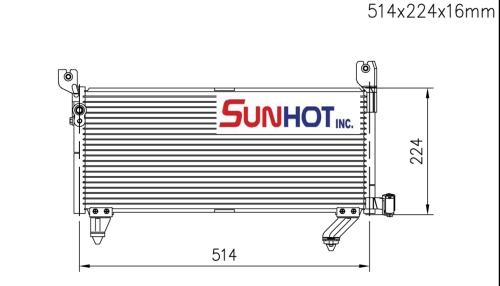 Mitsubishi MINICA - CMB037 - 散熱片