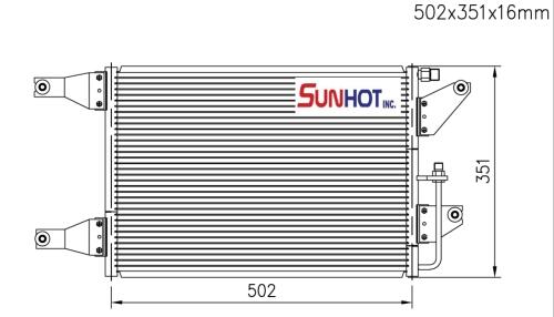 Mitsubishi TRITON - CMB040 - 散热片