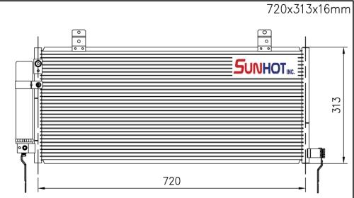 Mitsubishi ECLIPSE + L - CMB041 - 散熱片