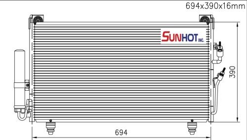 Mitsubishi OUTLANDER + L/T - CMB044 - 散熱片