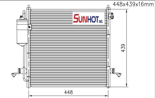 Mitsubishi L200 - CMB052 - 散热片