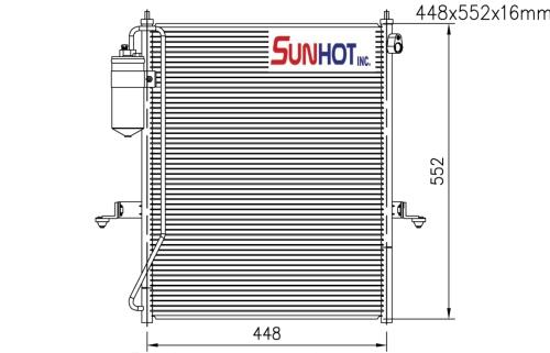 Mitsubishi L200 - CMB053 - 散热片