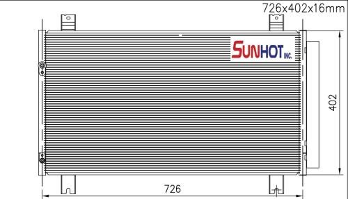 Mitsubishi SPACE WAGON - CMB055 - 散热片