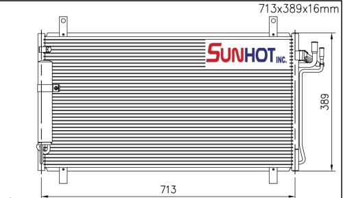 Nissan SKYLINE - CNS058 - 散热片