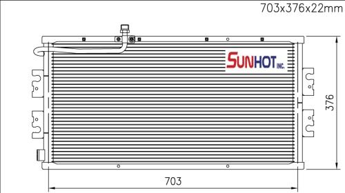 Nissan URVAN - CNS076 - 散热片