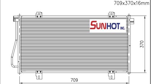 Nissan INTERSTAR - CNS078 - 散熱片