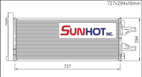 Peugeot HDI - CPG011 - 散熱片