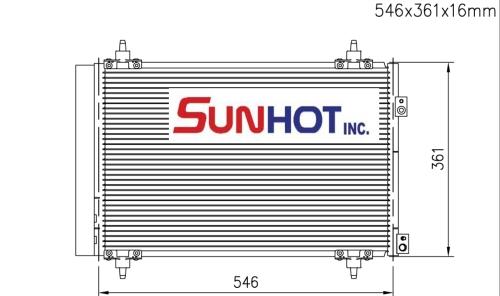Peugeot HDI - CPG012 - 散熱片