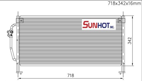 Subaru FORESTER - CSU021 - 散熱片