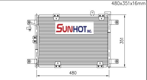 Suzuki GRAND VICTRA - CSZ003 - 散熱片