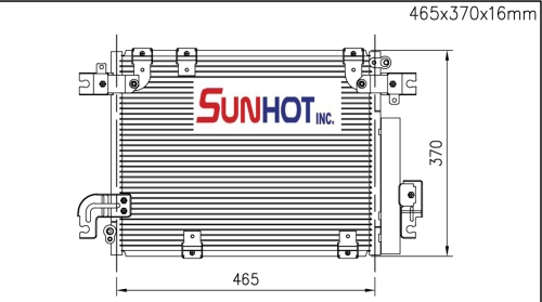 Suzuki VITARA - CSZ012 - 散熱片