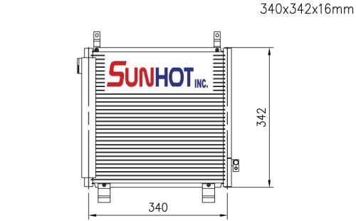 Suzuki LAPIN RHD - CSZ013 - 散热片