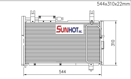 Suzuki SWIFT - CSZ021 - 散热片