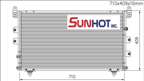 Toyota SEQUOIA - CTY038 - 散热片